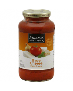 Essential Everyday Three Cheese Pasta Sauce 24 oz / 680g