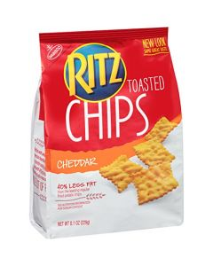 Ritz Cheddar Toasted Chips 8.1 OZ (229g)