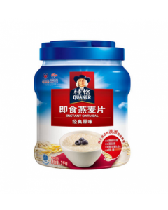 Quaker Original Instant Oatmeal (1kg) 桂格即食燕麦片