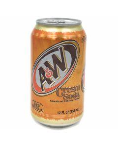 A&W Cream Soda (355mL) 爱德熊奶油味苏打碳酸饮料