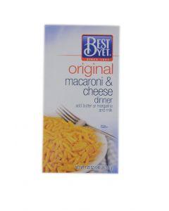 Best Yet Original Macaroni & Cheese Dinner 7.25 OZ (206g)