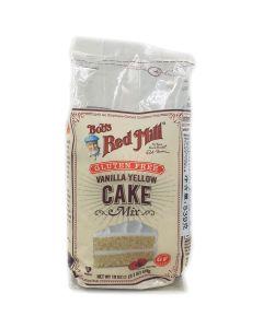 Bob's Red Mill Gluten Free Vanilla yellow Cake Mix 19 OZ (539g) 鮑勃紅磨坊香草味蛋糕粉(不含麵筋)