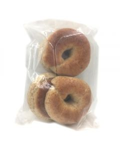 Camel Cakery Whole Wheat Bagels - 4 pack (Frozen)