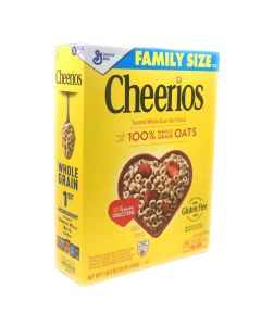 Cheerios Toasted Whole Grain Oat Cereal 18 OZ (510g) 将军牌烘烤全谷物燕麦圈