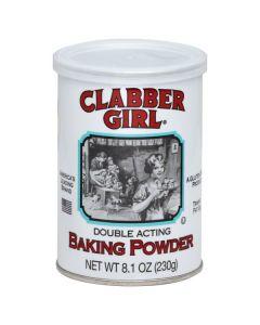 Clabber Girl Baking Powder 8 OZ (227g) 乖妹发酵粉