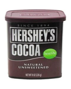 Hershey's Natural Unsweetened Cocoa Powder 8 OZ (226g) 好时可可粉