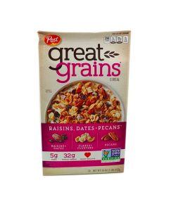 BBDS Post Great Grains Raisins Dates & Pecans Cereal 16 OZ (453g)