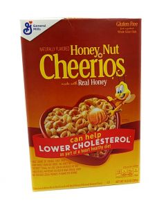 General Mills Honey Nut Cheerios Cereal (306g) 将军牌全谷物蜂蜜坚果味麦片