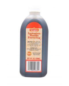 Springfield Imitation Vanilla 8 FL OZ (238mL) Springfield香草味食用香精 (食品添加剂)