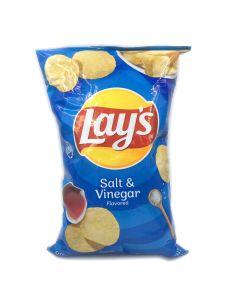 Lay's Salt & Vinegar Chips 6.5 OZ (184.2g) 乐事酸咸薯片 (膨化食品)