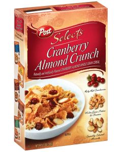 Post Great Grains Cereal Cranberry Almond Crunch 14 OZ (396g)