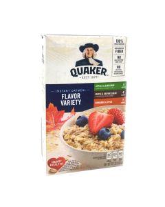 Quaker Instant Oatmeal Flavor Variety 15.1 OZ (430g)桂格速溶混合口味燕麦片
