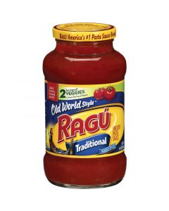 Ragu Old World Style Traditional Pasta Sauce 24 OZ (680g) 乐鲜肉味传统意粉调味酱