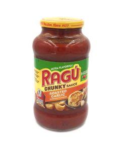 Ragu Chunky Roasted Garlic Pasta Sauce 24 OZ (680g) 乐鲜双重烤蒜味意粉调味酱