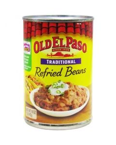 Old El Paso Traditional Refried Beans 16 OZ (453g) 欧帕传统黑豆酱