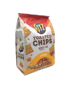 Ritz Toasted Chips Cheddar 8.1 OZ (229g)