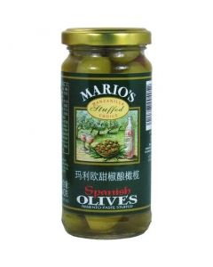 Mario's Spanish Olives Pimiento Paste Stuffed (240g) 玛利欧无核青橄榄