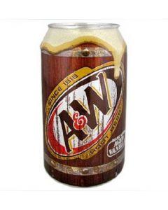 A&W Root Beer (355mL)艾德熊牌美国进口树根碳酸饮料