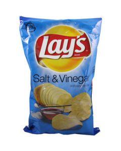 Lay's Salt & Vinegar Chips 6.5 OZ (184g) 乐事酸咸薯片 (膨化食品)