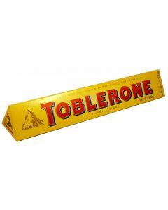Toblerone Milk Chocolate with Honey & Almond Nougat (100g)