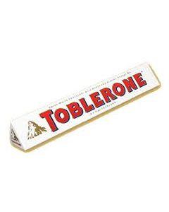 Toblerone White Chocolate with Honey & Almond Nougat (100g) 瑞士三角白巧克力(含蜂蜜及杏仁)